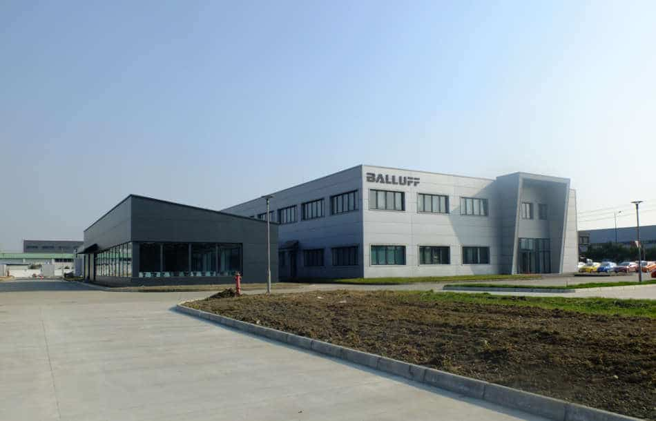 Balluff is expanding in China