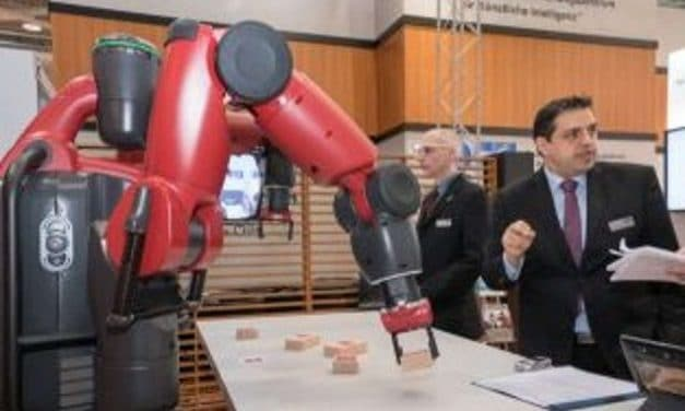 Hand in hand: human-robot collaboration at CeBIT 2017