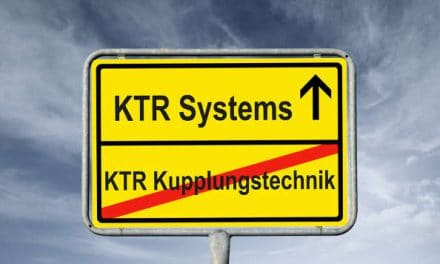 Change of name into KTR Systems GmbH