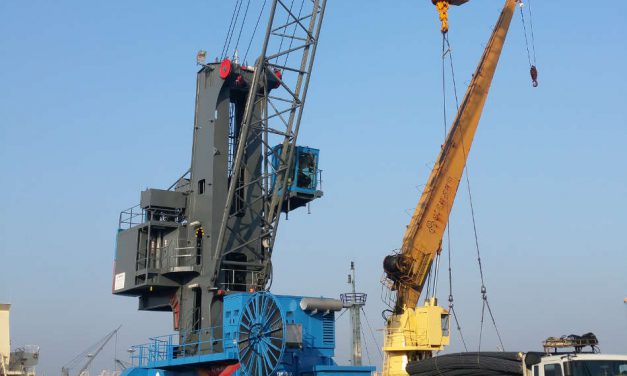 Konecranes Mobile Harbor Crane becoming popular with terminal operators in Korea