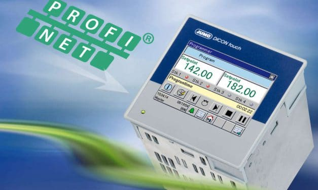 Jumo Dicon touch in the Profinet world