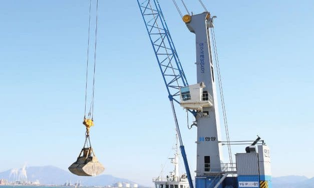 Record order for harbor cranes