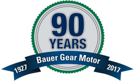 Bauer Gear Motor celebrates its 90th anniversary