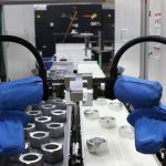 Vision-guided cobots from Universal Rotots in production