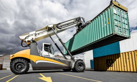 First Liebherr LRS 545 Reachstacker for India