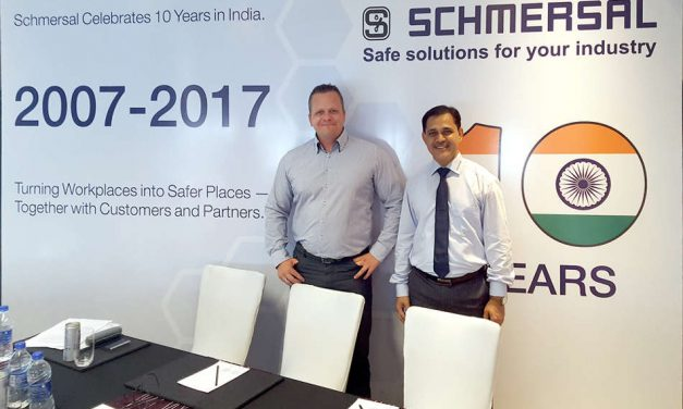 Schmersal celebrates ten-year anniversary in India