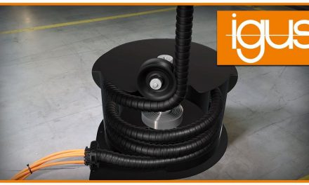 Highly and safely with the new Igus energy chains