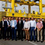 Konecranes Noell Straddle Carrier No. 3,000 goes to Antwerp