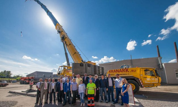Kranark features Grove all-terrain crane at Russian open house event