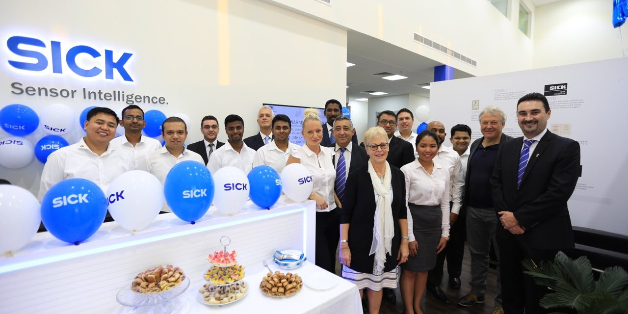 SICK celebrates ten years of operations in the Middle East