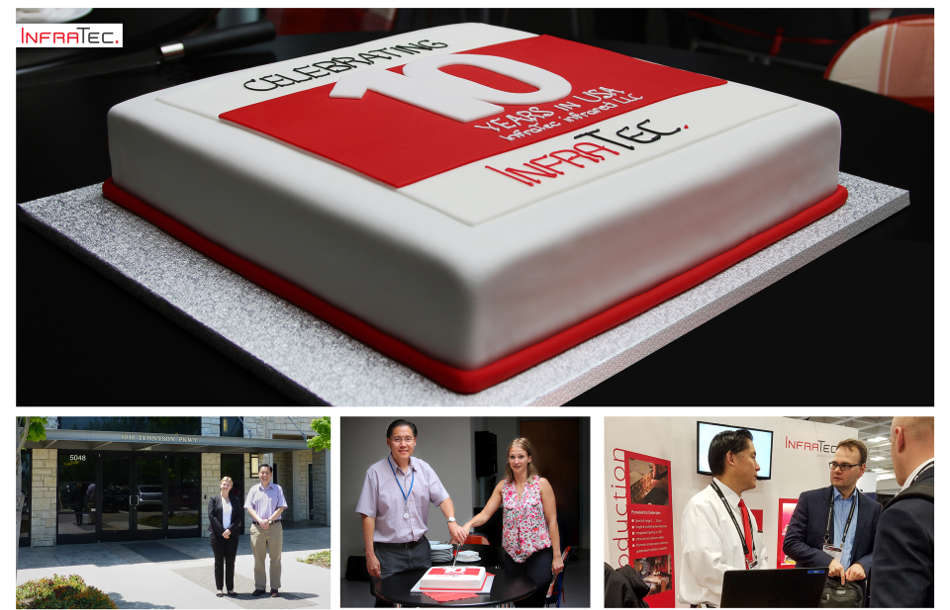 USA location of InfraTec celebrates its 10th anniversary