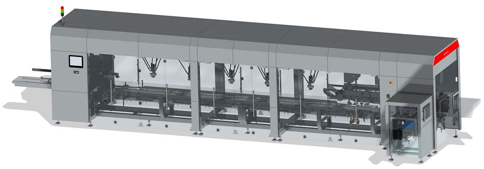 Servo systems for packaging machine manufacturer
