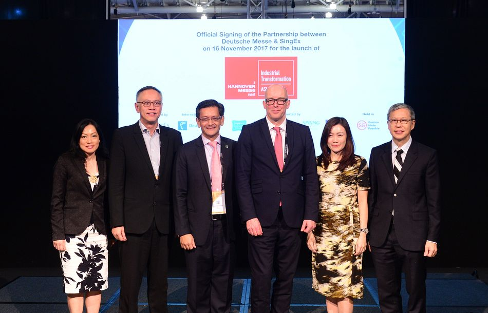 HANNOVER MESSE follows German companies to Singapore