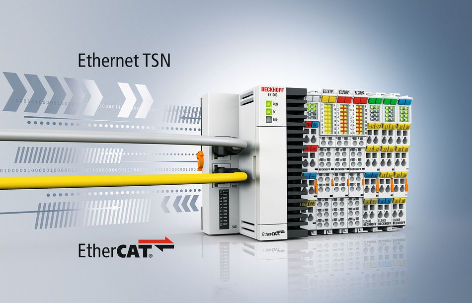 Beckhoff: Easily connecting EtherCAT with TSN networks