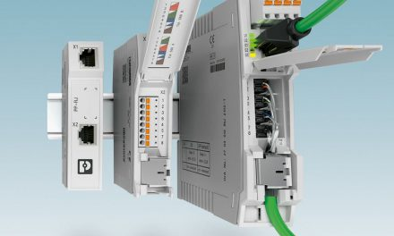 DIN rail devices: Fast connection and safe supply