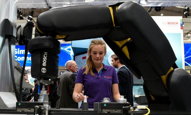 In the factories of the future, the focus is squarely on humans