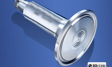 Hygienic pressure sensor with condensate-resistant measuring cell