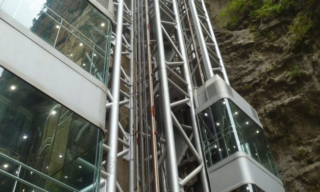 Brakes for the highest outdoor elevator in the world