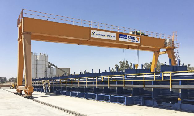 Technology from Stahl Cranesystems stands the test in the Egyptian heat