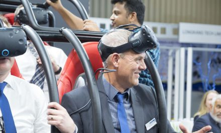 VR roller coaster powered by servo motors become reality