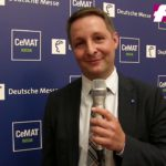 Cemat 2018: Statement by Krister Sandvoss, Global Director Cemat bei der Deutschen Messe AG  [german]
