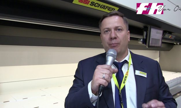 Cemat 2018: Statement Andrey Belinskiy, General Manager, SSI Schäfer, Moscow, Russia
