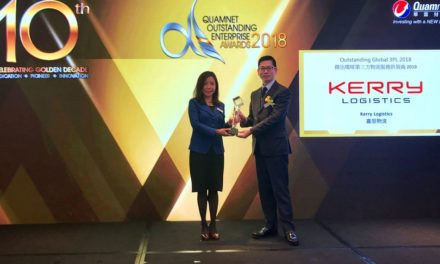 Kerry Logistics Presented with Quamnet Outstanding Enterprise Awards