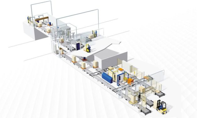 One conveyor technology for three production areas