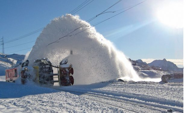 Big Picture: Railway Snow Blowers