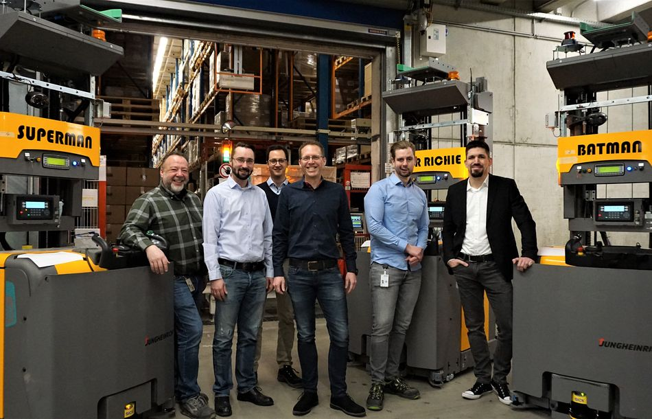 Arvato Invests in Automated Guided Vehicles