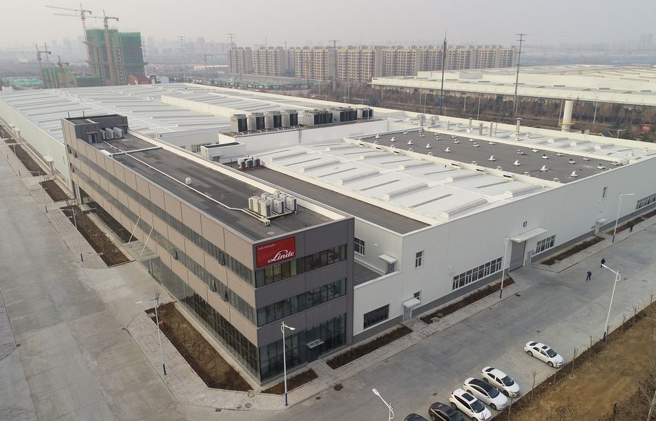 Linde Hydraulics Opens New Plant in China