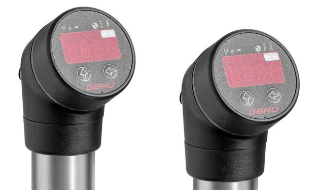 New Temperature Sensor with Monitoring System