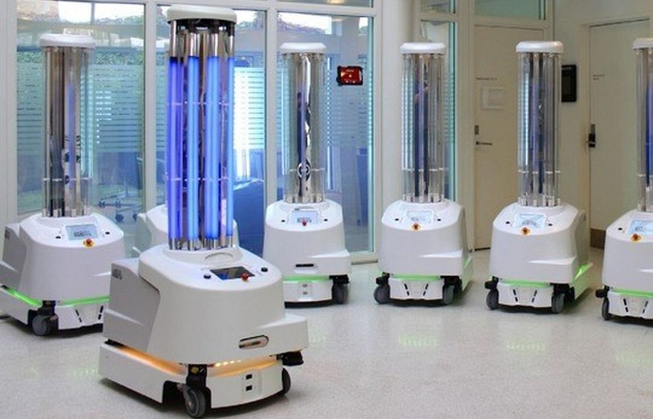 Disinfection Robots Fight Against the Coronavirus