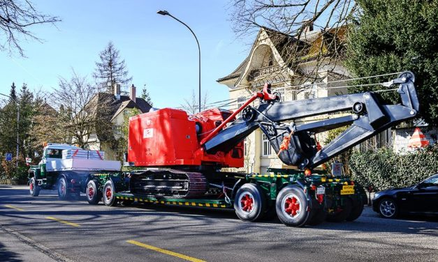 Low-Deck Trailer Still in Use After 56 Years