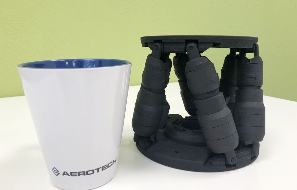 A Highly Precise Addition to the Aerotech Hexapod Family