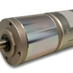 Brushless DC motor with planetary gear