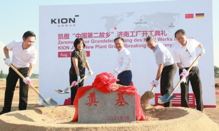 Kion Group Begins Work on New Plant in China