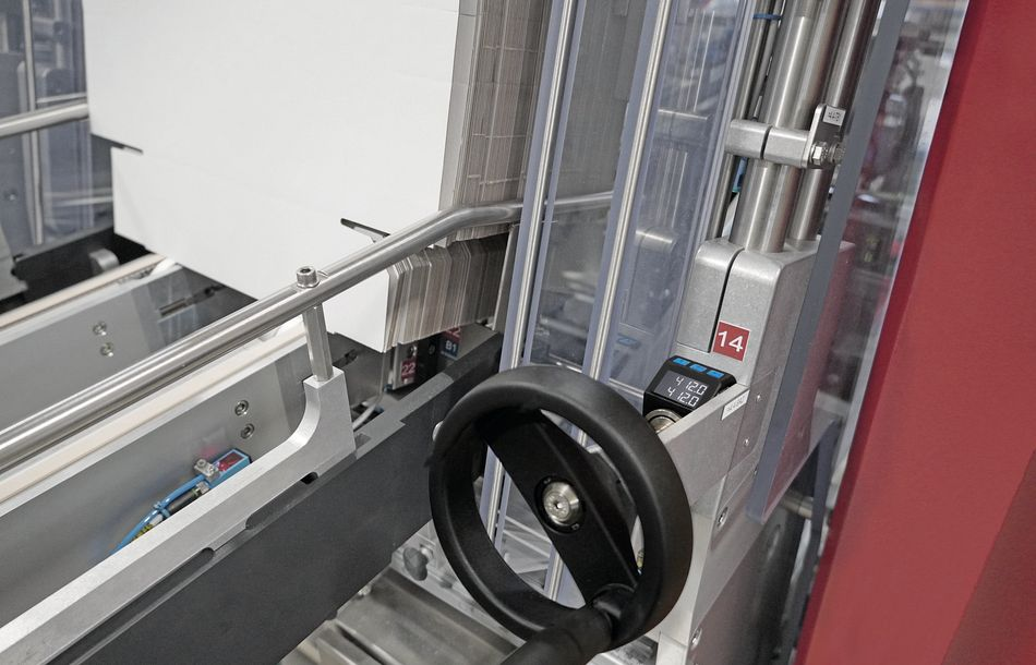 Simple Format Changeover on Packaging Machines