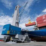 Mobile Harbor Crane with Low Environmental Impact