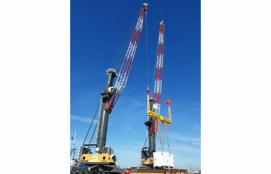 Tandem Lifting System for Heavy Lift Operations