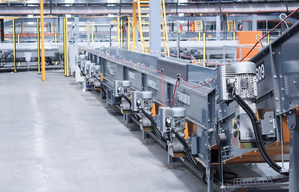 Efficient Frequency Inverters for Conveyor Systems