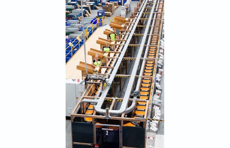 Flexible Sorter for Distribution Center