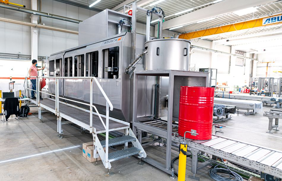 Fully Automatic Fillers for MDI-Production